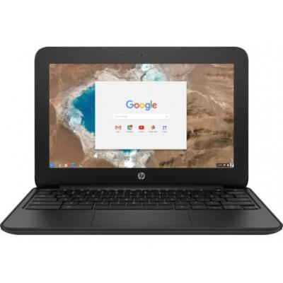 Hp laptop: Chromebook 11 G5 - Zwart