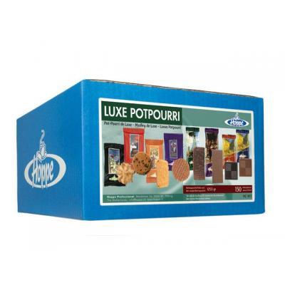 Hoppe bakkerswaar: Koekjes luxe potpourri/doos 150