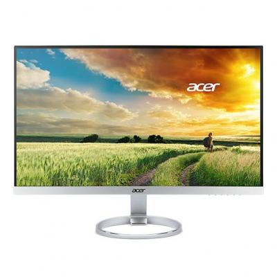 Acer monitor: H7 H7 monitor met 25'' IPS scherm - Zwart, Zilver