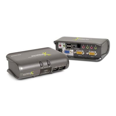 Iogear MiniView Extreme Multimedia KVMP Switch KVM switch - Grijs