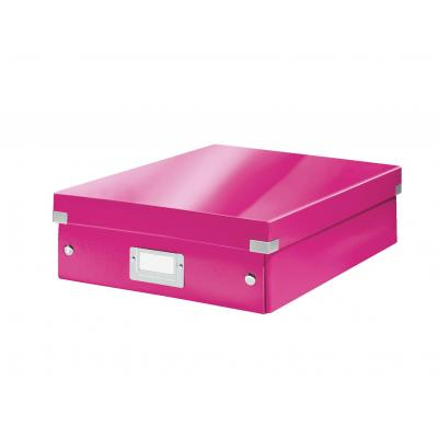Leitz archiefdoos: Click & Store middelgrote opbergdoos - Roze