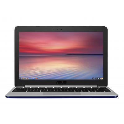 "Asus laptop: Chromebook 11.6"" 16GB  - Navy, Zilver"