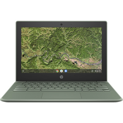 "HP Chromebook 11A G8 EE 11,6"" A4 4GB RAM 32GB eMMC Laptop - Groen"