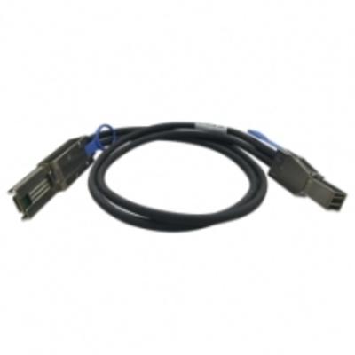 QNAP CAB-SAS20M-8644-8088 Kabel - Zwart, Metallic