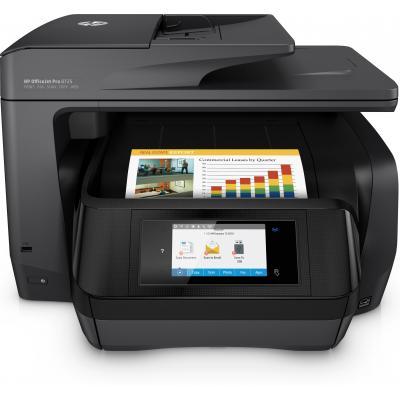 Hp multifunctional: OfficeJet OfficeJet Pro 8725 All-in-One printer - Zwart