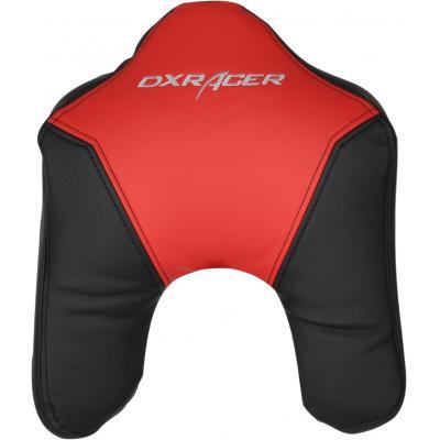 Dxracer hardware: - HEADREST CUSHION 11-NR Hoofdsteun (Zwart / Rood)