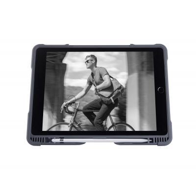 STM Dux Plus iPad 2018 Tablet case - Zwart, Grijs