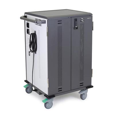 Ergotron YESMOR36 Portable device management carts & cabinet - Zwart,Grijs