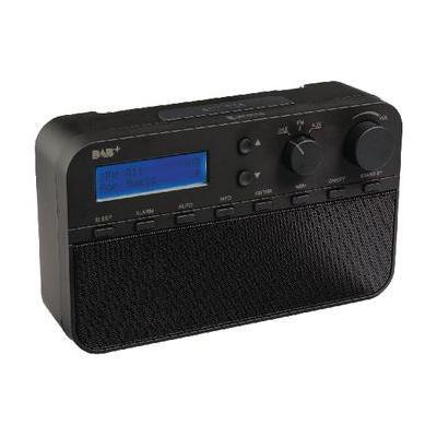 König radio: DAB/FM, LCD, 3.5 mm, AUX - Zwart