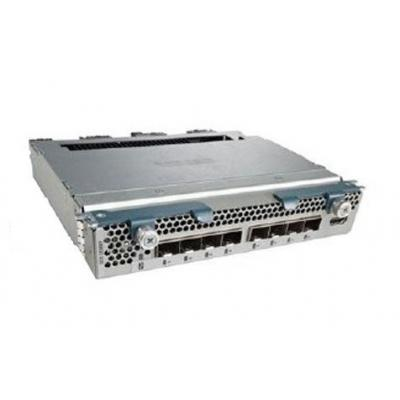 Cisco netwerk switch module: 2208XP Fabric I/O Extender, 8x 10GbE/FCoE Ports to Fabric Interconnect, 32x Internal .....