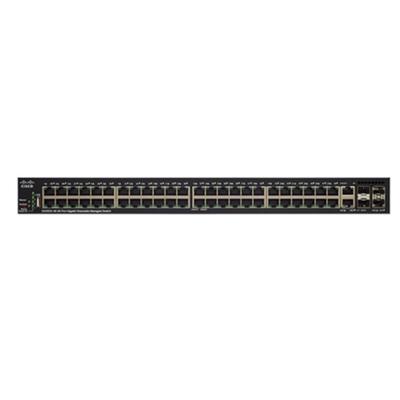 Cisco SG350X-48P Switch - Zwart