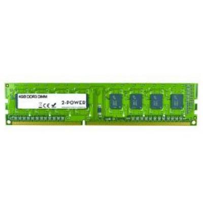 2-power RAM-geheugen: 4GB DDR3 DIMM - Groen