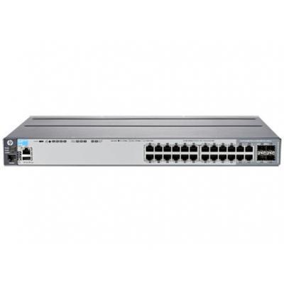 Hewlett Packard Enterprise switch: Aruba 2920 24G - Grijs (Approved Selection One Refurbished)