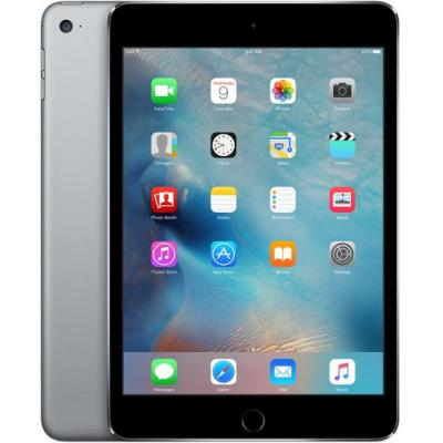Apple iPad mini 4 Wi-Fi Cellular 64GB Space Gray Tablet - Grijs - Refurbished B-Grade
