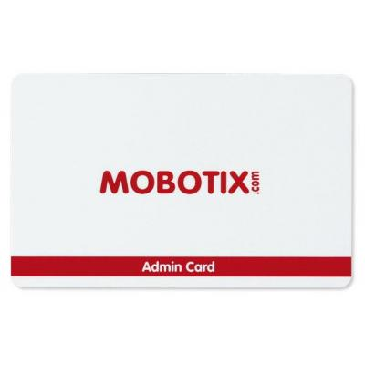 Mobotix access card: Admin RFID access card - Rood, Wit