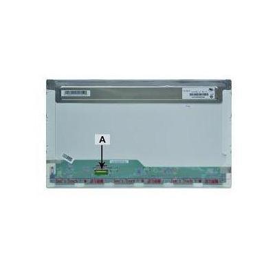 """2-power notebook reserve-onderdeel: 43.942 cm (17.3 """") 1920x1080 FullHD LED Matte - Groen, Grijs, Rood"""