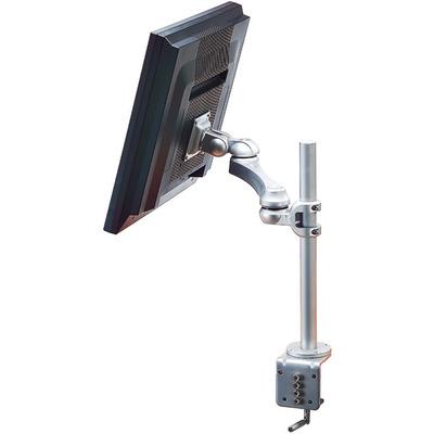 ROLINE LCD, 3 draaipunten, tafelmontage Monitorarm - Zilver
