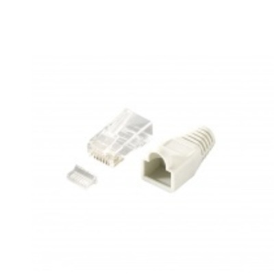 Equip 121175 Kabel connector - Transparant, Wit