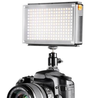 Walimex camera flitser: Bi-Color 209 LED - Zwart, Grijs