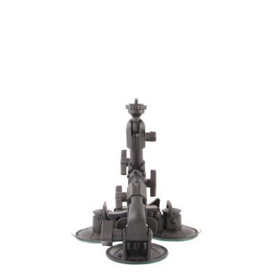 Delkin camera-ophangaccessoire: Fat Gecko Triple Mount - Zwart