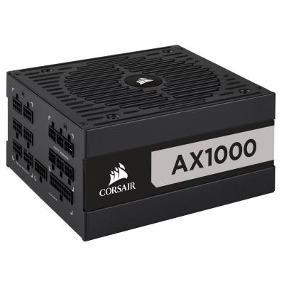Corsair AX1000 Power supply unit - Zwart