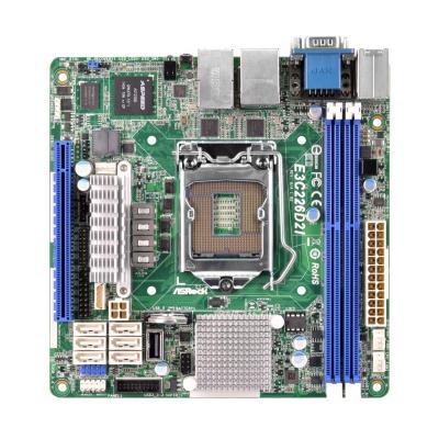 Asrock server/werkstation moederbord: Mini ITX, Intel C226, LGA 1150, Gigabit LAN, AMI UEFI