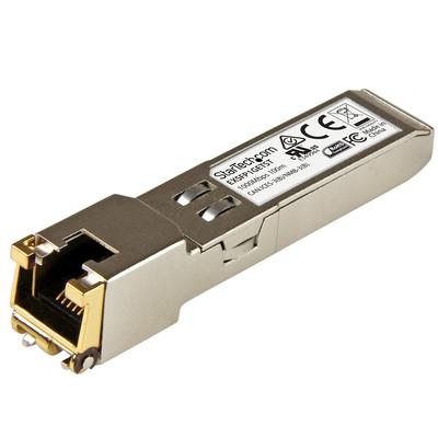 StarTech.com Juniper EX-SFP-1GE-T compatibel SFP Transceiver module 10/100/1000BASE-T 10/100/1000 Mbps .....