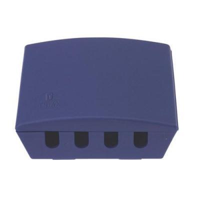 Triax kabel splitter of combiner: MFC 102 - SAT/UHF/VHF combiner - Blauw