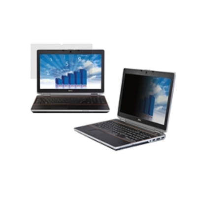 "Dell schermfilter: 35.6cm (14""), 10:9, Omkeerbaar (Mat / Glans), Zwart"