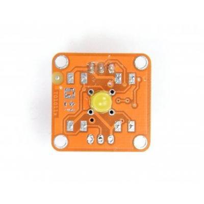 Arduino : TinkerKit LED Yellow, 5mm
