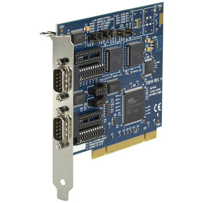 Black Box Dual Port PCI Interface Card Interfaceadapter - Blauw