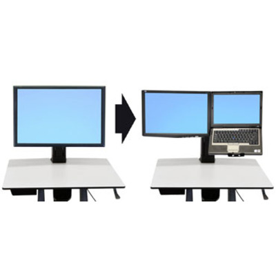Ergotron Convert-to-LCD & Laptop Kit from Single HD Monitorarm