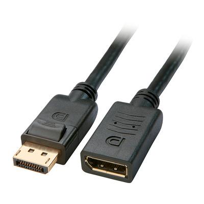 Lindy 3m, DisplayPort - Zwart