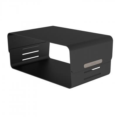 Dataflex accessoire: Addit Bento® monitorverhoger - verstelbaar 123 - Zwart