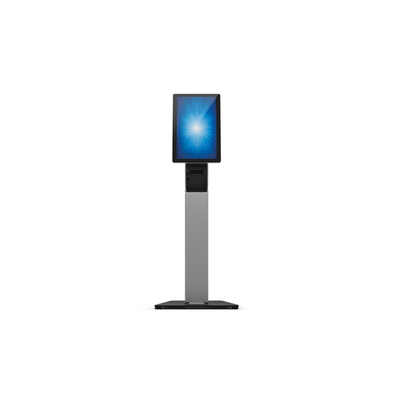Elo Touch Solution ELO Stand Self Service Floor Multimedia kar & stand - Zwart,Zilver