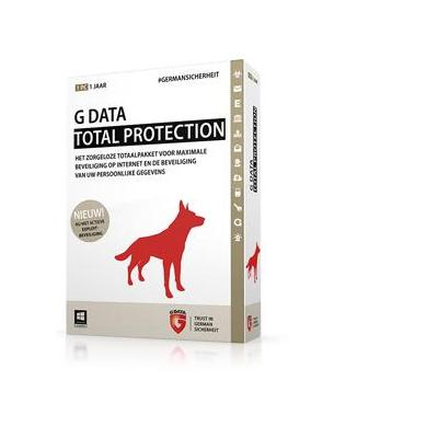 G data software: Total Protection, 3PC, 1 Year, Box