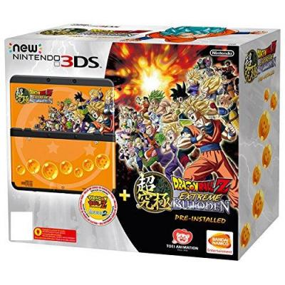 Nintendo portable game console: New 3DS + Dragon Ball Z: Extreme Butoden Pack - Zwart