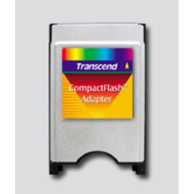 Transcend CompactFlash Adapter Geheugenkaartlezer - Zilver