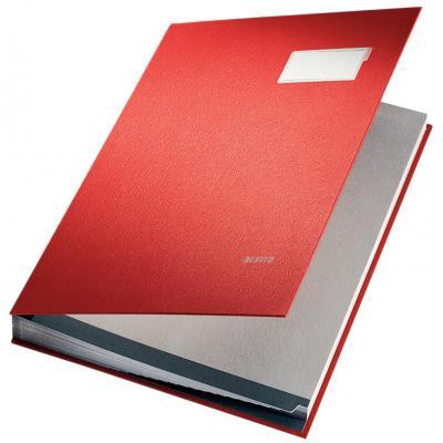 Leitz schrijfblok: Vloeiboek karton, Rood