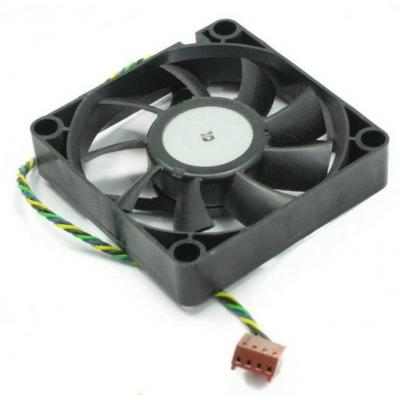 HP 70x15mm CPU Colling Fan for Business Desktop DC5700 / DC7600 / DC7700 / DC7800 Hardware koeling - Zwart