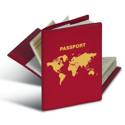 Herma : RFID protectors for passport - Rood
