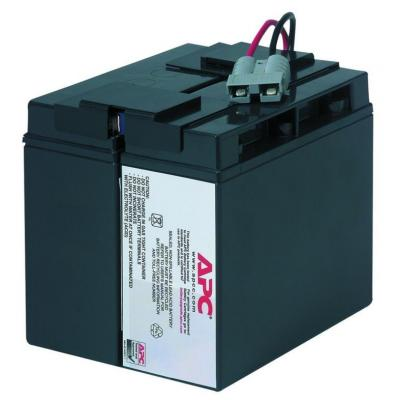 2-power UPS batterij: Lead acid - Zwart