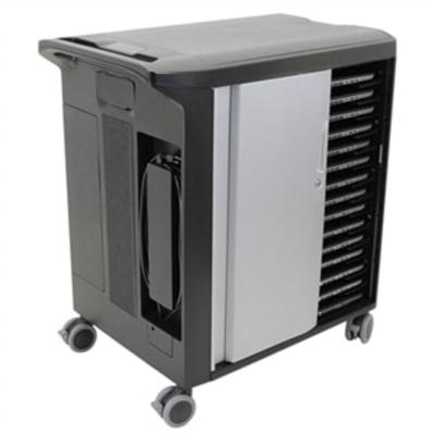 DELL Unmanaged Charging Cart - 30 apparaten CT30U181 Multimedia kar & stand - Zwart, Grijs