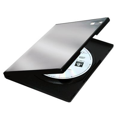 Fellowes 5x Plastic DVD doosjes - Zwart