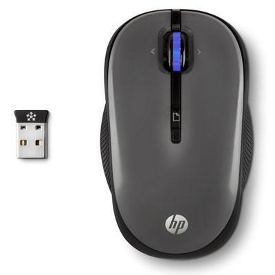 HP X3300 Wireless Muis Computermuis - Grijs
