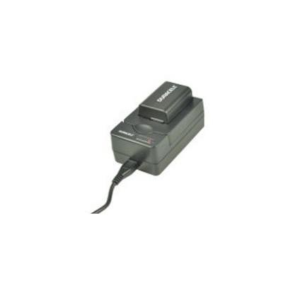Duracell oplader: USB, 5V, Replacement f/ Sony NP-FH30 / 40 / 50 / 60 / 70 - Zwart