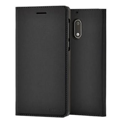 Nokia mobile phone case: Slim Flip Cover CP-302 - Zwart