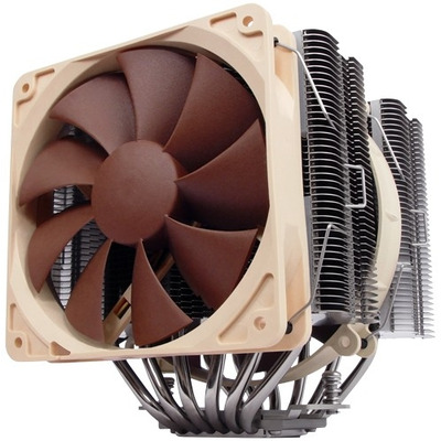 Noctua NH-D14 Hardware koeling - Bruin, Zilver