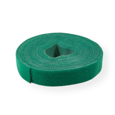 Value Cable Tie Roll, 10mm, green, 25 m Kabelbinder - Groen
