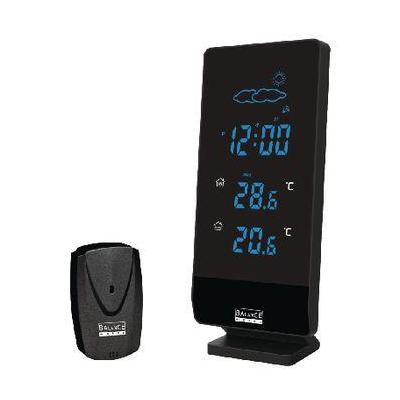 Balance weerstation: Radio-Controlled Weather Station Indoor and Outdoor Black - Zwart